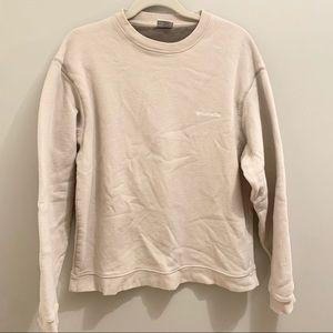 Columbia beige sweatshirt